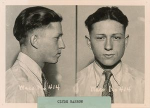 PRINT IMAGE PHOTO BLANCHE BARROW MUGSHOT PHOTO Bonnie and Clyde PICTURE G10