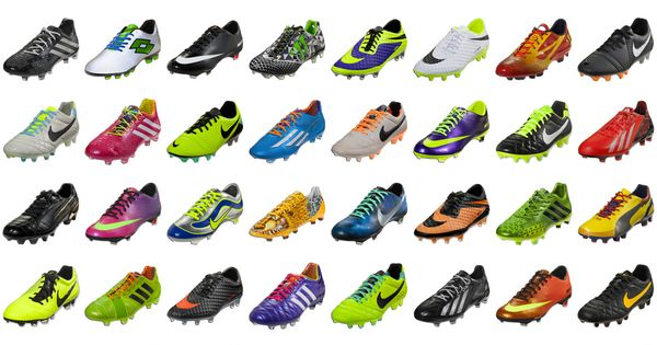 Some of the most popular soccer cleats of 2013.