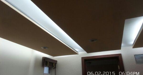 Plafones tablaroca con luz indirecta cristopher - Luz indirecta ...