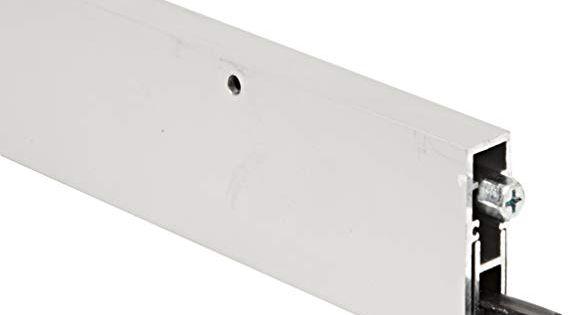 Automatic Door Bottom 3 8x36 In Aluminum Amazon Com Industrial Scientific Automatic Door Aluminum Sound Proofing
