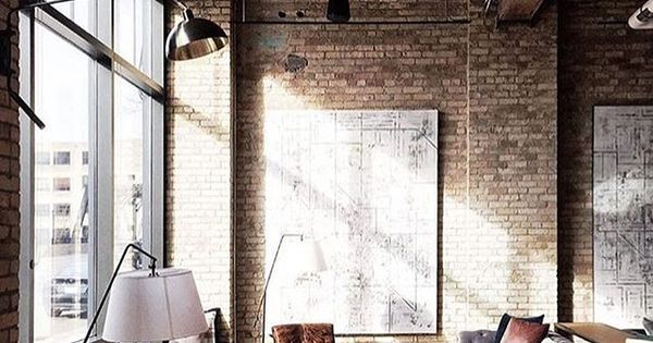 century-old warehouse apartment, photo by @canarygrey  Object design & modern ...