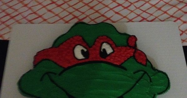 Ninja turtle pull apart cupcake cake | Cakes | Pinterest ...