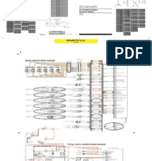 Diagrama Electrico Caterpillar 3406e C10 C12 C15 C16 2 Electrical Connector Throttle In 2020 Tachometer Connectors Caterpillar