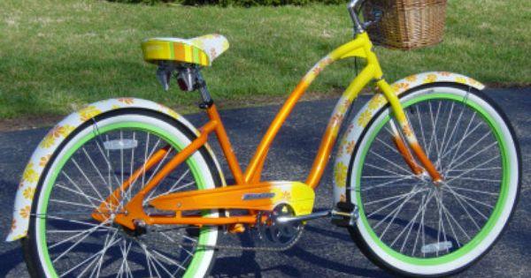 The Bicycle I Dream Of The Electra Daisy A Cruiser With Three Speeds Beach Cruiser Electra Beach Cruiser Beach Bike