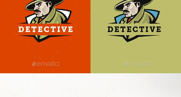 Detective Logo – Humans Logo Templates