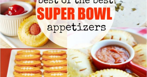 Super bowl appetizers best of the best and super bowl on for Super bowl appetizers pinterest