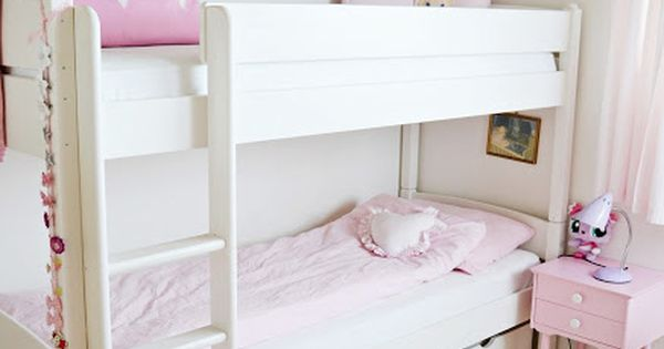 soft pink bedroom soft pink and white s bedroom with bunk beds 13363