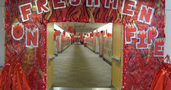 homecoming hallway decorations Freshman Hall Decorations
