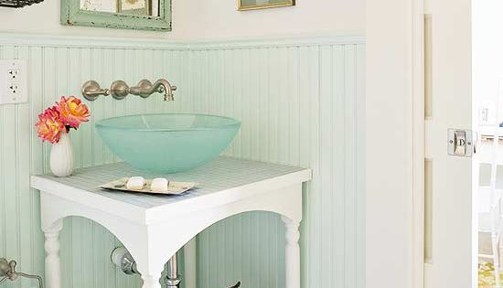 small bathroom sink and vanity idea