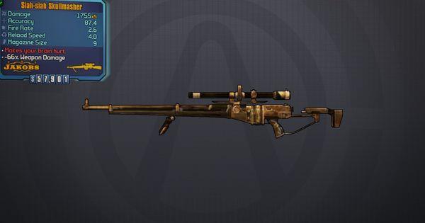 Skullmasher- Legendary sniper rifle | Borderlands 2 ...