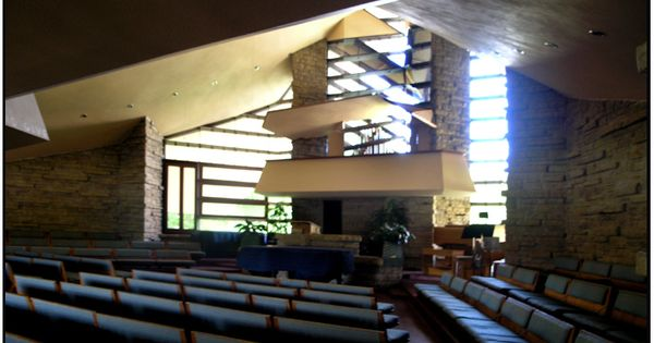 Interior Of The Madison WI Unitarian Meeting House, Designed By Frank Lloyd  Wright | Church Architecture | Pinterest | Frank Lloyd Wright, Lloyd Wright  And ...