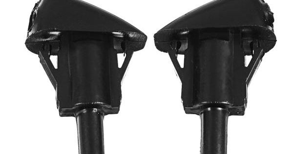 WayJun 8S4Z17603AA Windshield Water Jet Washer Nozzle fit 2008-2011 Ford Focus Set of 2