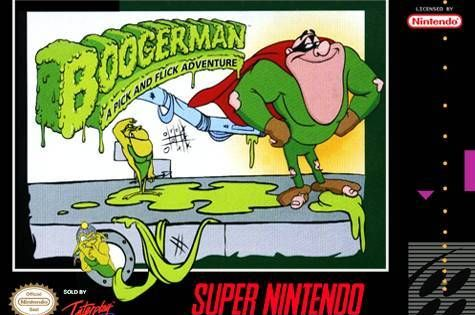 Boogerman A Pick And Flick Adventure For Snes Www