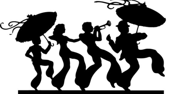 35+ Jazz Band Valentines Day Dinner Dance Clipart