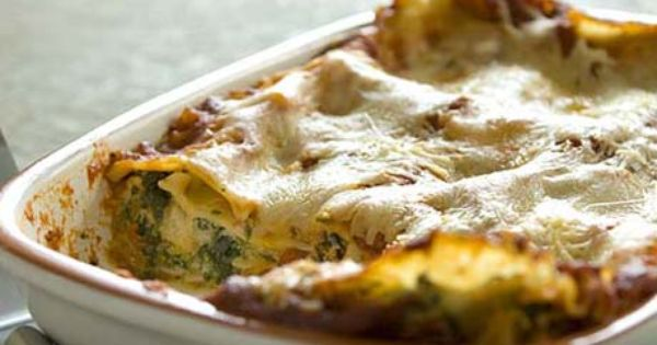 My FAVORITE lasagna recipe ever. Thomas and I like to add some