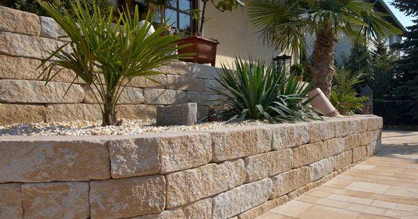 gartenmauersteine | modern decor | pinterest, Gartengestaltung