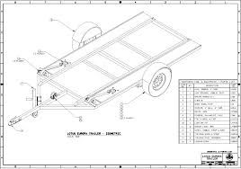Image Result For Single Axle Car Trailer Plans Trailer Plans Car Trailer Trailer