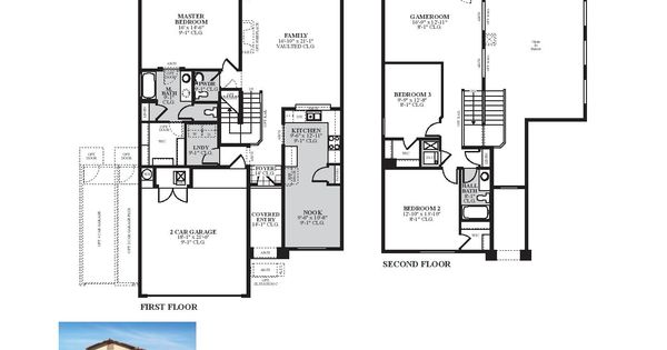 DR Horton Oxford Floor Plan
