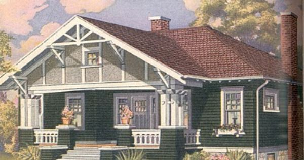 Sears Kit Home Elsmore 1916 1919 Bungalow Craftsman