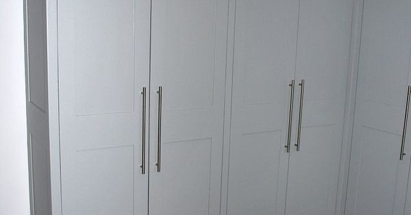 Contemporary Style Floor To Ceiling Utility Room Cupboards
