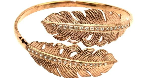 Nina Feather bangle. tiffany tiffany jewelry in michigan♔PM