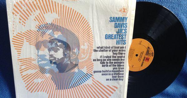 Vintage Sammy Davis Jr Quot Greatest Hits Quot Vinyl Lp Record