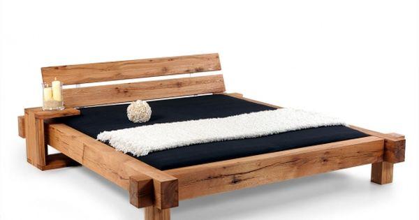 MAMMUT Doppelbett/Massivholzbett Sumpfeiche geölt | bett | Pinterest