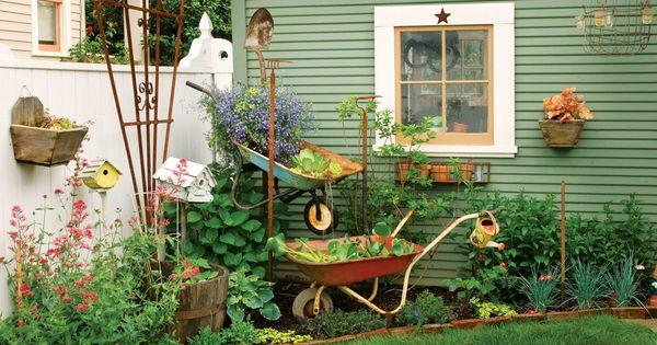 Back yard landscaping idea.