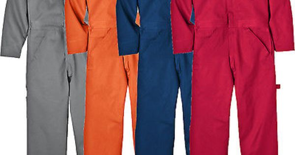 Dickies Coveralls Mens Long Sleeve Mechanic Coveralls 4870 Cotton Ebay Dickies Coveralls Mechanic Clothes Mechanic Coveralls