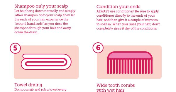 10 Tricks and tips to avoid split ends