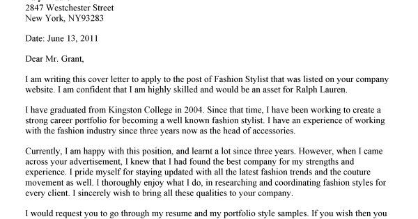fashion stylist covering letter career pinterest fashion stylist stylists and fashion cover letter fashion industry
