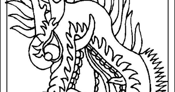 print draak kleurplaat inspiratie doetips