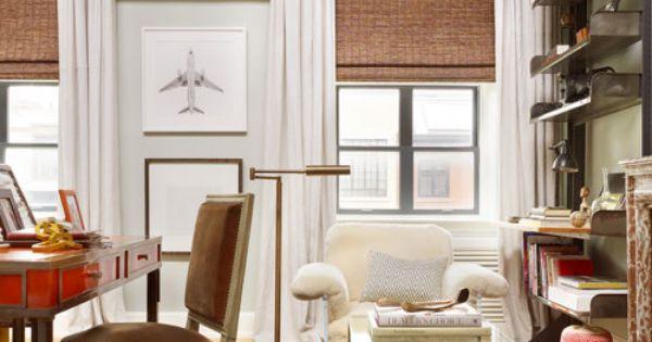 See how designer nate berkus renovated his 19th century for Nate berkus window treatments