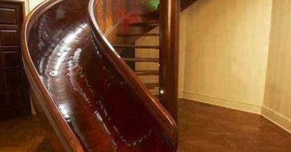 Fun idea! I have the staircase, I just need the slide.