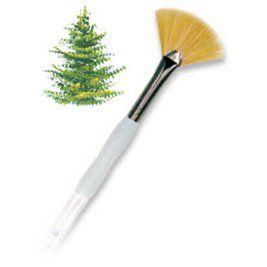 Royal Soft Grip Golden Taklon Fan Brush Artist Paint Brush Sg8504 12 Pack You Can Find Out More Details At Art Brushes Diy Art Projects Art Instructions