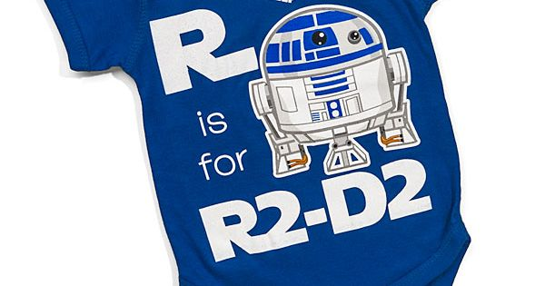 This R2-D2 Baby Outfit Helps Little Ones Learn Their ABCs baby fashion