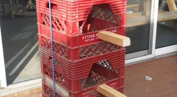 THE PERCHES milk crates for chicken nesting box | Last ...