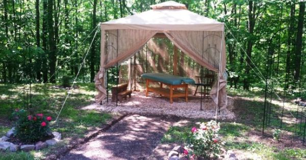 The old backyard massage gazebo in capon bridge wv my for Classic house massage