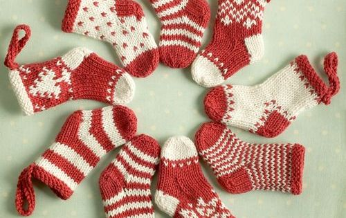 Christmas Stockings Knit Patterns