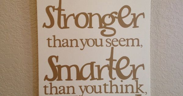 Winnie the Pooh Wall Quote by HandleWithLuv on Etsy