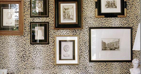 Une Chambre Avec Imprim Animal Pour Une Ambiance Sauvage Couleurs Murs Et D Co Pinterest