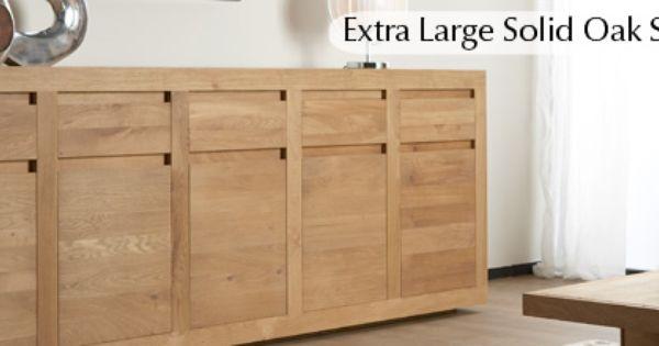 Shop Here For Extra Large Solid Oak Sideboards Kitchen Pinterest