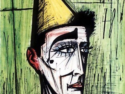 1999 ) , Clown Fond Vert, 1978