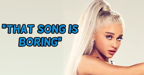 Ariana Grande Dissing Her Own Songs Youtube Ariana Grande