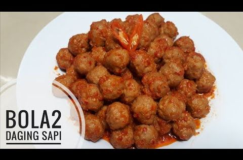 Resep Bola Bola Daging Sapi Resep Kreni Olahan Daging Sapi Youtube Di 2021 Makanan Daging Sapi Resep