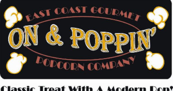 Sticker For On And Poppin Popcorn Co Fruit Flavored Flavored
