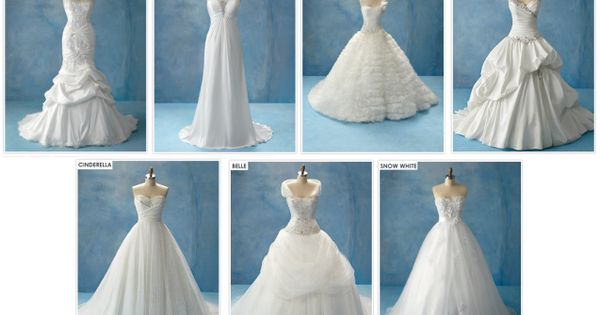 Disney Princess inspired wedding dresses!