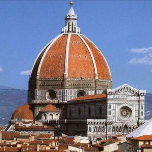 Cúpula De La Catedral De Santa María Del Fiore Construida Por Fillipo Brunelleschi 1436 Ubicada En El Corazó Florence Travel Florence Travel Guide Florence