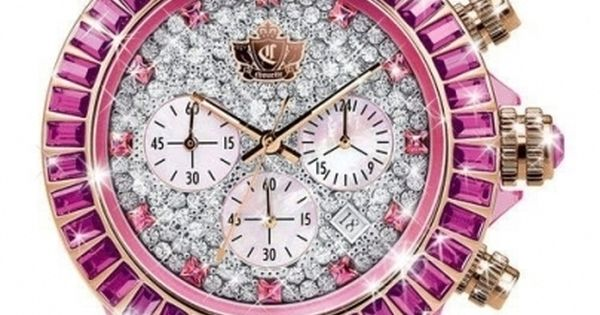 Juicy Couture Pink Watch Ladies Watches Pinterest