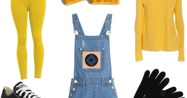 """Minion Costume DIY"" by shahs2017 on Polyvore: 